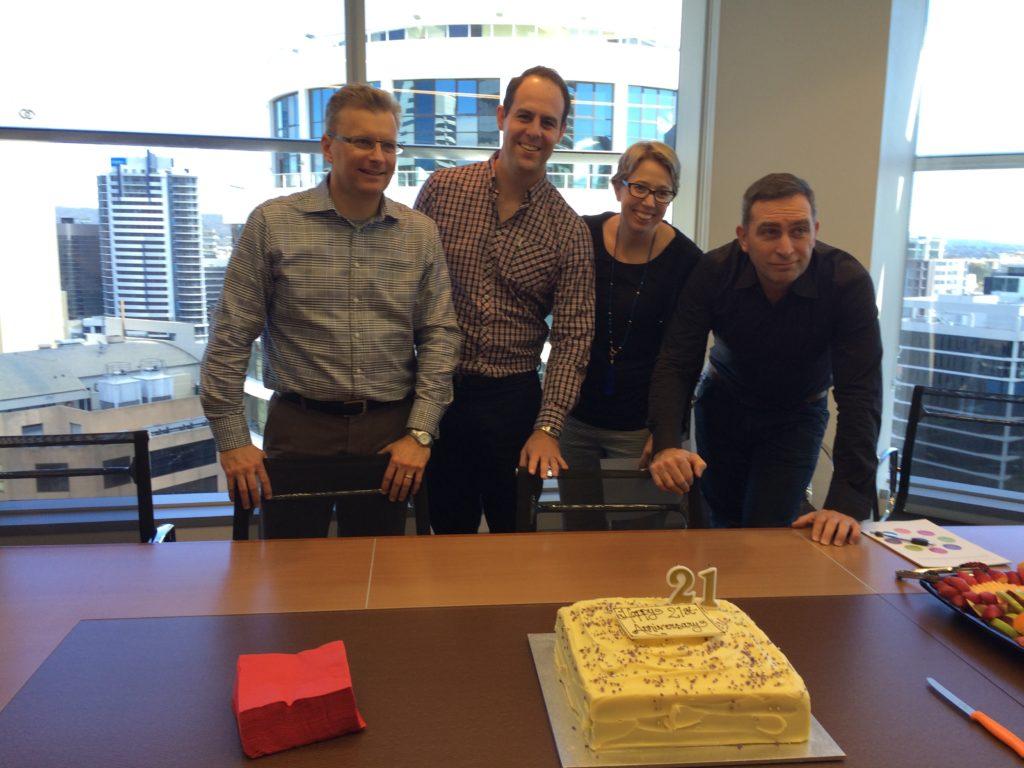 Harris Black celebrates 21 years